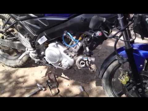 World's first Turbo yamaha R15