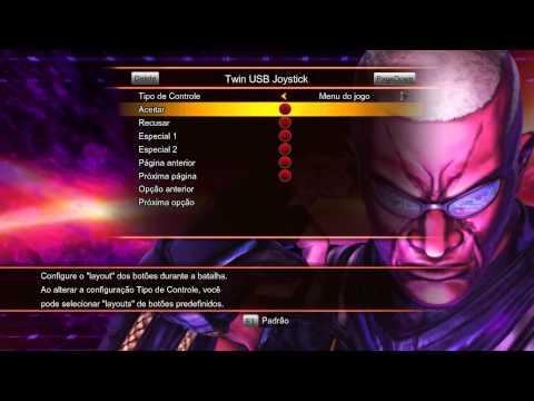 Configurando Joystick (Controle) do Street Fighter x Tekken PC