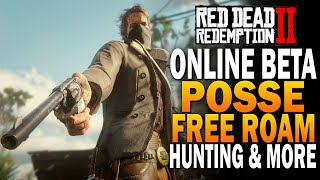 Persistent Posse Free Roam, Hunting, Robbing & More - Red Dead Redemption 2 Online [RDR2]