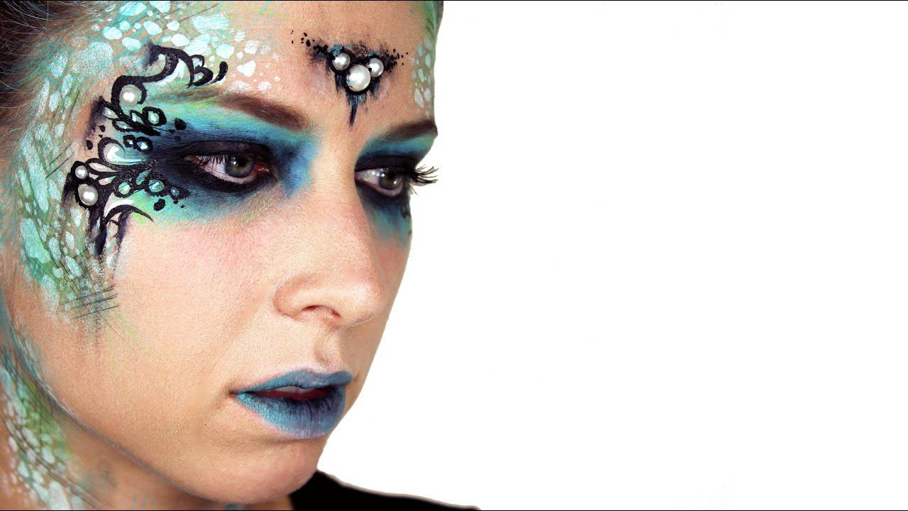 Dark Mermaid Makeup Tutorial