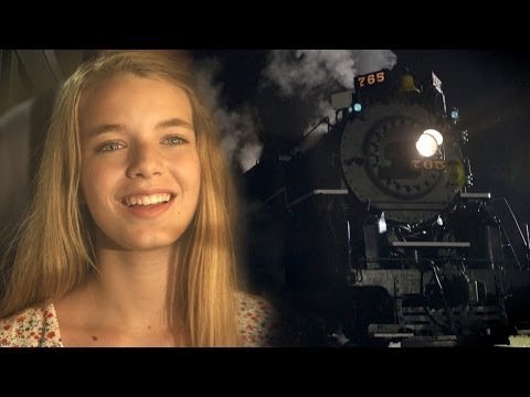 Coca-Cola Commercial with Vintage Steam Locomotive NKP 765