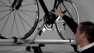 Видео: Велокрепление на крышу автомобиля Cruz Alu-Bike