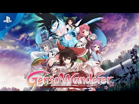 Touhou Genso Wanderer - Gameplay Trailer | PS4, PS Vita
