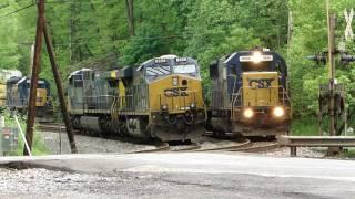 CSX Plays Musical Train Engines  🚂🚂🚂🚂🚋🚋🚋🚋🚋🚋🚋🚋