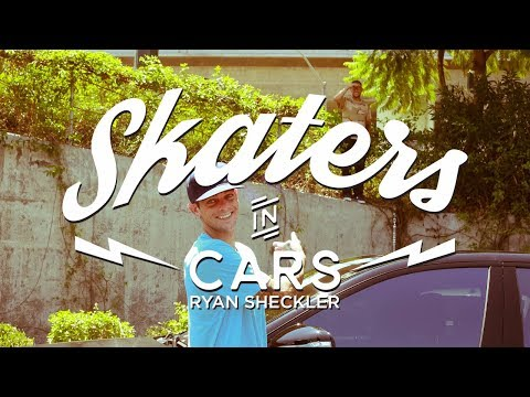 Skaters In Cars: Ryan Sheckler | X Games