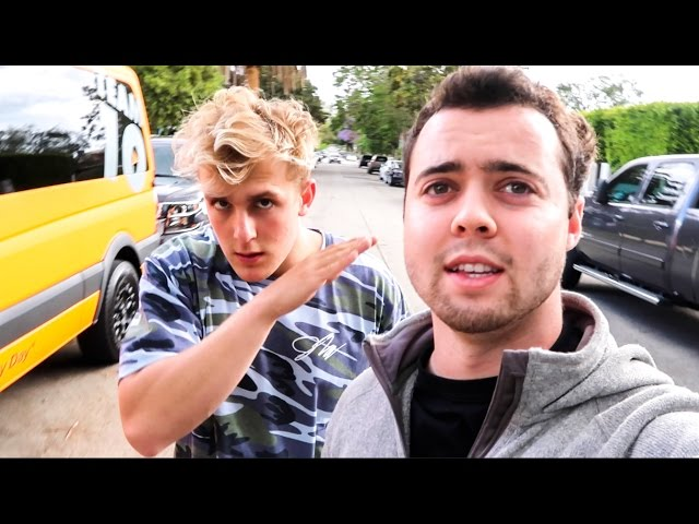 MY MERCEDES BROKE?! (ft. Jake Paul!)