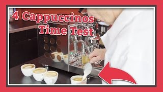 Making 4 Cappuccinos On The Appartamento! | Latte Lab