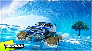 THE WAVIEST WATER RACE (GTA 5 Funny Moments)