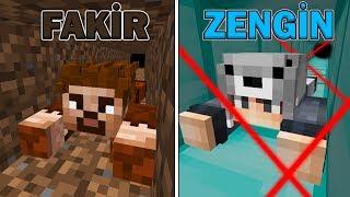 FAKİR HAPİSHANE VS ZENGİN HAPSİHANE (KAÇIŞ) 😱 - Minecraft
