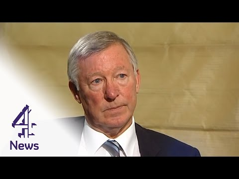 Sir Alex Ferguson interviewed by Jon Snow | Channel 4 News