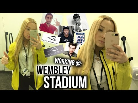 My Experience Working @ Wembley Stadium!! | who I've met, big events & why I love it