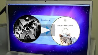 Aprende a actualizar el software de tú mac por medio de CD
