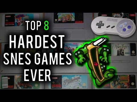 Top 8 Hardest Super Nintendo (SNES) Games Ever
