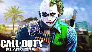 THE JOKER PLAYS CALL OF DUTY! (Black Ops 3 Ninja Montage Trolling)