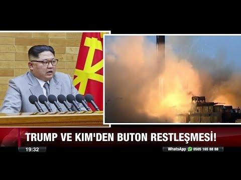 Trump ve Kım'den Buton restleşmesi! - 3 Ocak 2018