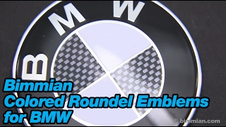 Bimmian Colored Roundel Emblems for BMW
