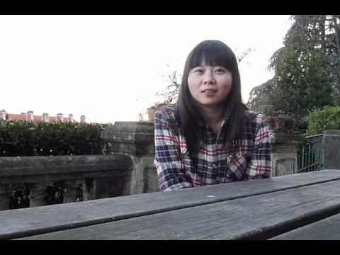 Zhejiang girl speaks French