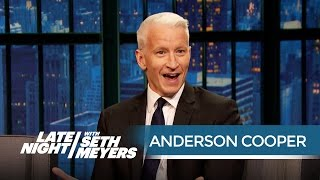 Anderson Cooper and Seth on Making an Enemy of Donald Trump - Late Night with Seth Meyers