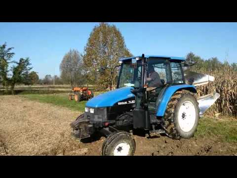 Aratura invernale con New Holland - Winter plowing with New Holland