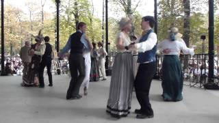 Dancing Highlights from Luxembourg Gardens in Paris