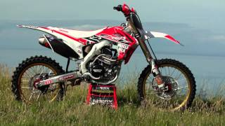 Honda 2016 CRF450 and 2016 CRF250 Muscle Milk