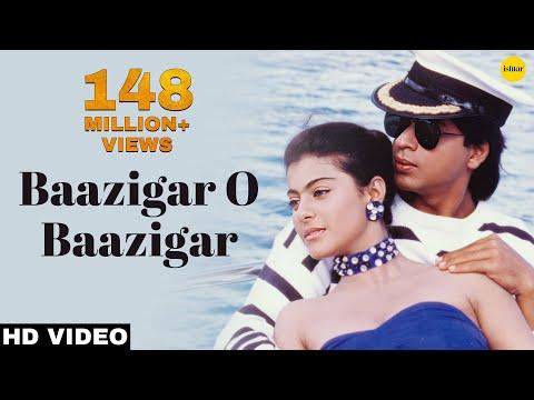 Baazigar O Baazigar-HD VIDEO SONG | Shahrukh Khan & Kajol | Baazigar | 90