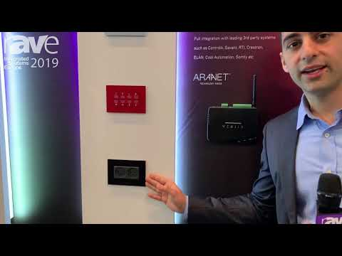 ISE 2019: VITREA Intros VHotel Series of Switches, Keypads and Outlets for Hospitality