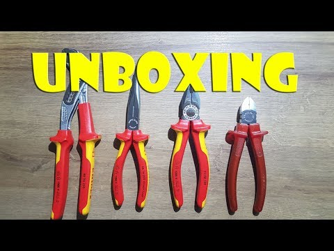 UNBOXING: Knipex Zange made in germany - Knipex pliers
