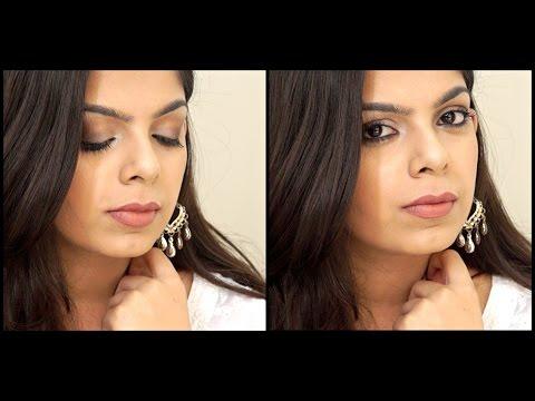 Soft Smokey Eye Tutorial   Two Lip options   Eid Makeup Tutorial 2016