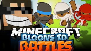 Minecraft Bloons TD Battle | ZEUS TOWERS ARE INSANE