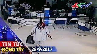 Lộ diện thủ phạm cầm súng gây ra vụ cướp ngân hàng ở Vĩnh Long   TIN TỨC ĐÔNG TÂY - 28/9/2017