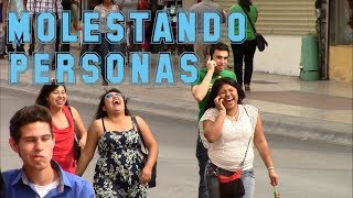 Molestando A Personas | Bromas 2014 | Bromas En La Calle | Just Maming | Pranks | Trolling People |