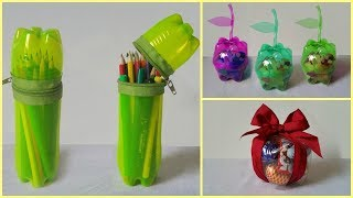 How to Make Useful Items from Waste Bottles!