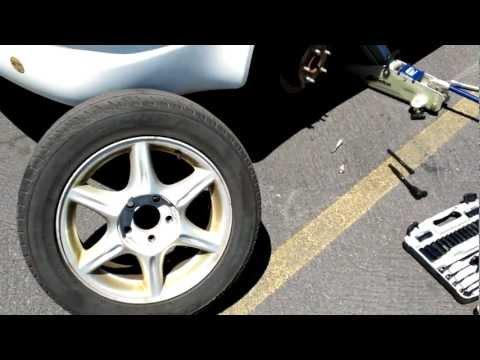 2004 Oldsmobile Alero brake pad replacement