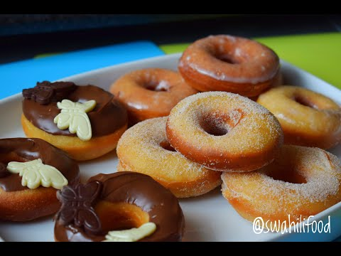 Soft fluffy donut recipe with 3-icing options!