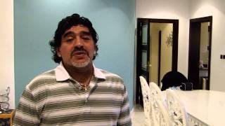 Diego Maradona message to Elias Figueroa
