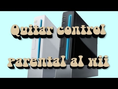 Tutorial como quitar control parental al wii