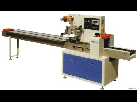 Cable Flow Wrapping Machine Automatic PE Film Data Line Pack Machinery Horizontal Packer