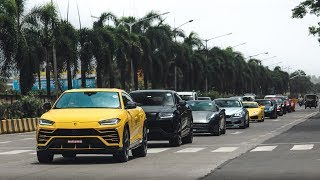 Supercar Traffic in Mumbai Traffic | Lamborghini | Ferrari | Porsche