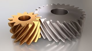 Tutorial: How to instantly model straight, helical and herringbone gears in Blender