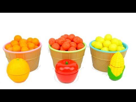 Видео для детей Делаем смузи из фруктов и овощей
