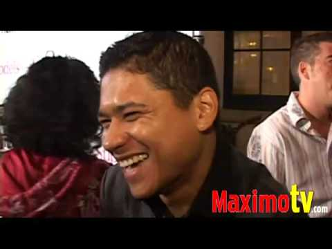 Jorge Luis-Pallo INTERVIEW at Supermodels Unlimited Magazine Party 2008