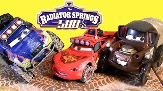 Stanley Mater Off-Road McQueen RadiatorSprings500 1/2 Disney Cars Toons RS500 by Toys Collector