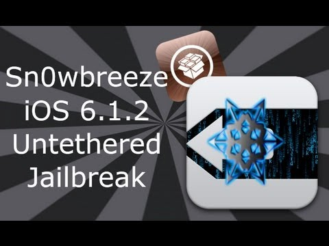Sn0wbreeze iOS 6.1.2 / 6.1.3 Jailbreak / Hacktivate iPhone 4. 3GS & iPod Touch 4