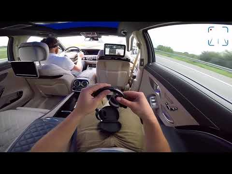 MERCEDES S CLASS MAYBACH S600 V12 PASSENGER POV ALL FEATURES GADGETS & TOP SPEED