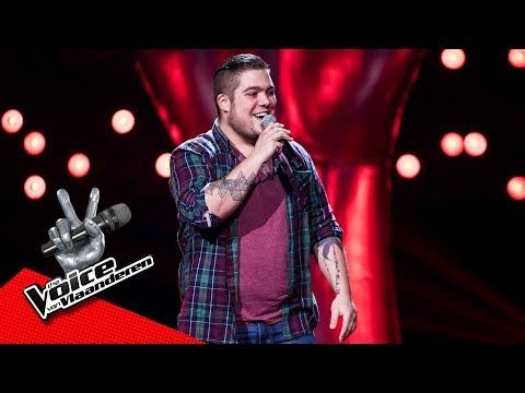 Dries zingt 'Wanted Dead or Alive' | Blind Audition | The Voice van Vlaanderen | VTM