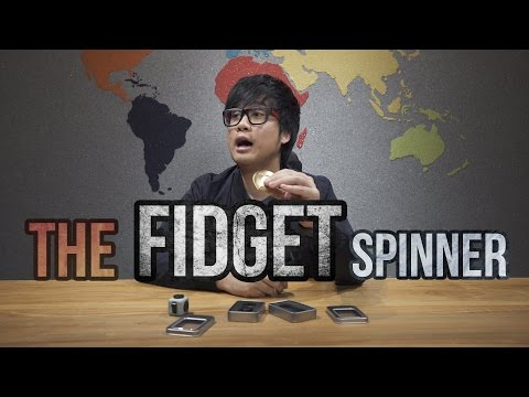 The Latest CRAZE?! - The FIDGET Spinner!