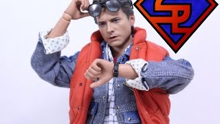 Back To The Future Hot Toys Marty McFly Movie Masterpiece 1/6 Scale Collectible Figure Review