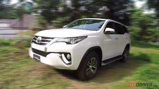 Toyota All New Fortuner 2016 - First Drive Review Indonesia - OtoDriver