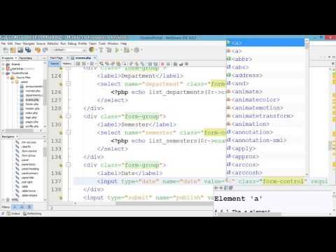 17 – Student Portal in PHP/MySQL (Pashto)